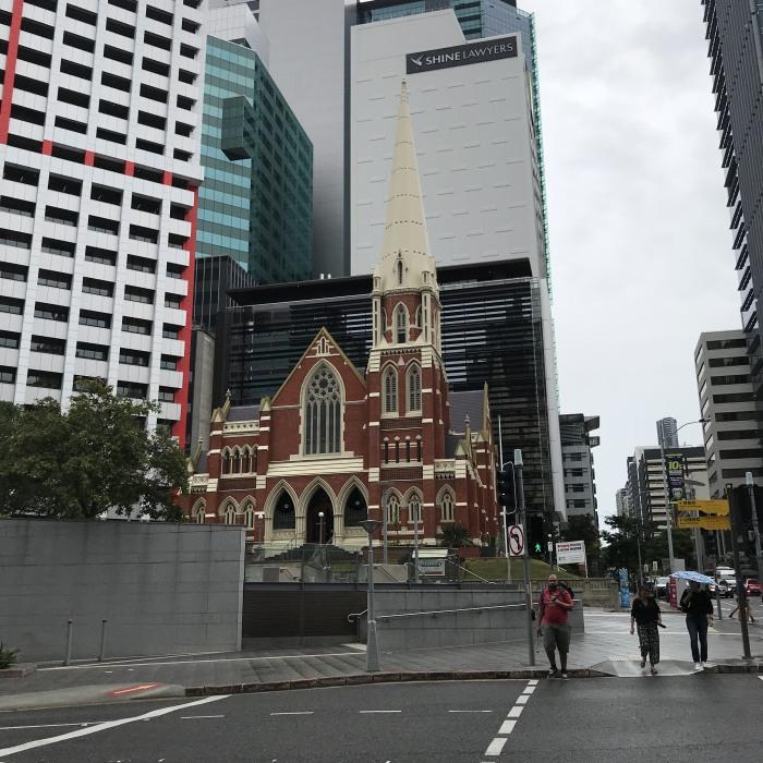 Brisbane im Regen